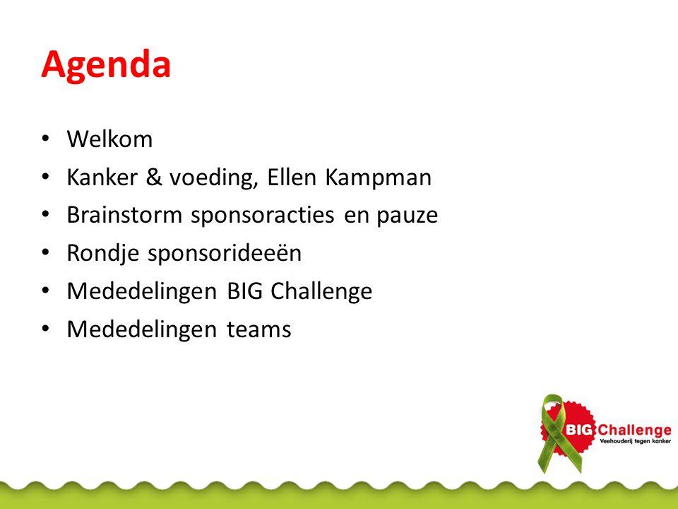 Ellen Kampman Hoogleraar Kanker en Voeding Vrije Universiteit Amsterdam en Wageningen UR Financiering vanuit Alpe d'HuZes-fonds