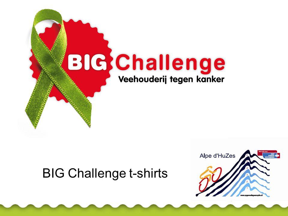 BIG Challenge t-shirts