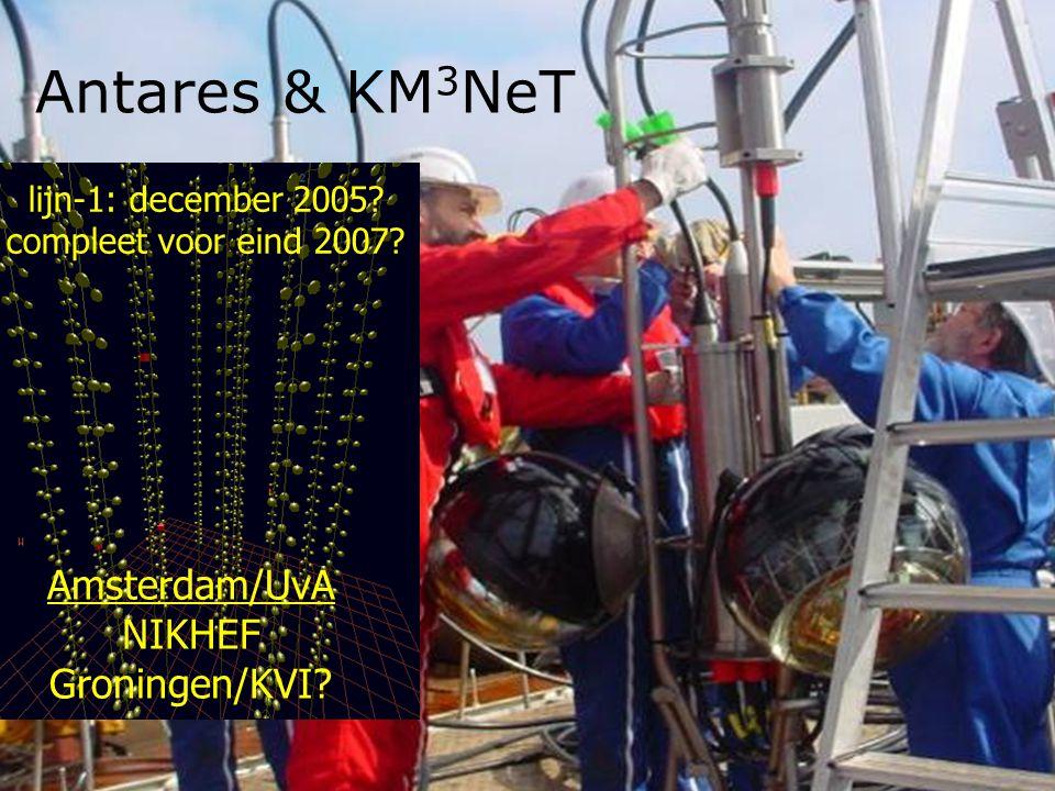 Antares & KM 3 NeT Amsterdam/UvA NIKHEF Groningen/KVI.