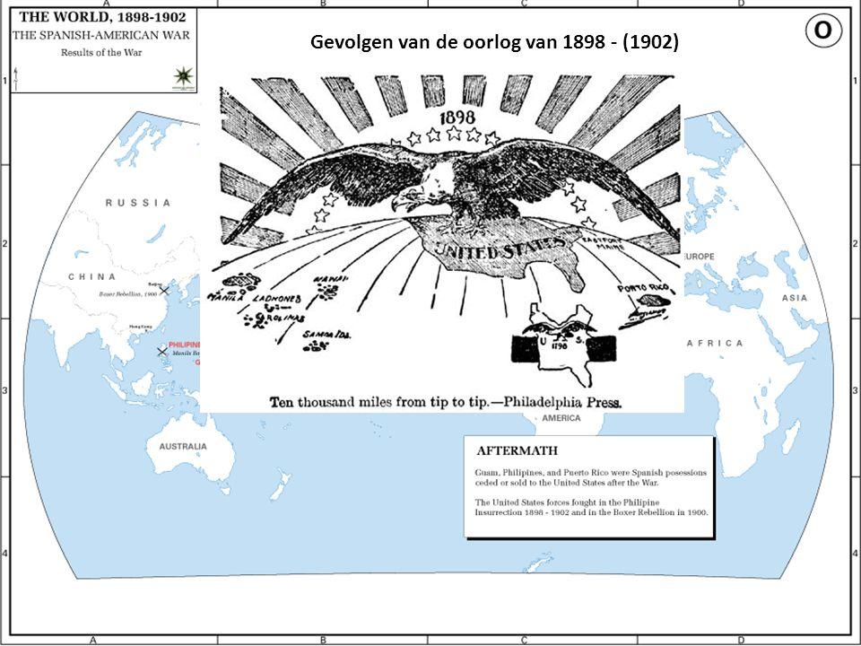 Gevolgen van de oorlog van 1898 - (1902)