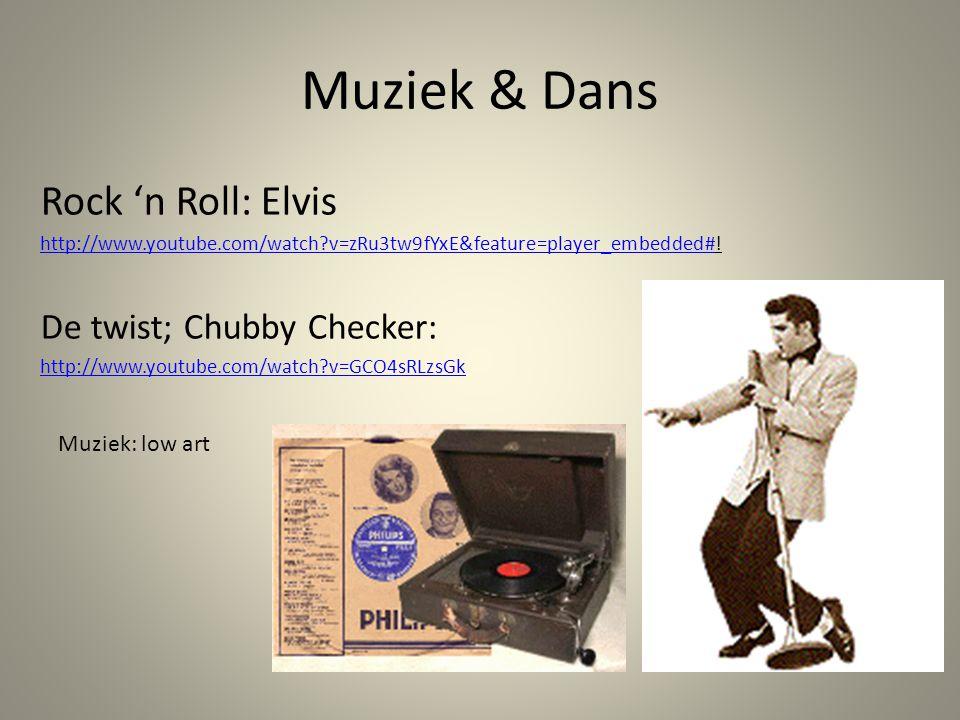 Muziek & Dans Rock 'n Roll: Elvis http://www.youtube.com/watch?v=zRu3tw9fYxE&feature=player_embedded#http://www.youtube.com/watch?v=zRu3tw9fYxE&featur