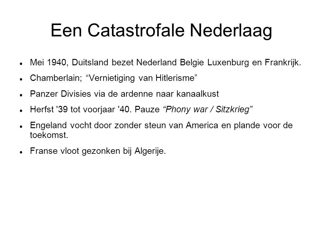 """Een Catastrofale Nederlaag Mei 1940, Duitsland bezet Nederland Belgie Luxenburg en Frankrijk. Chamberlain; """"Vernietiging van Hitlerisme"""" Panzer Divisi"""