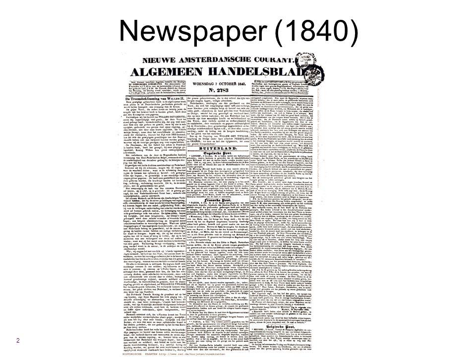 Newspaper (1840) 2