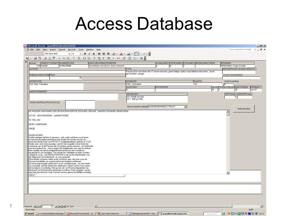 Access Database 7