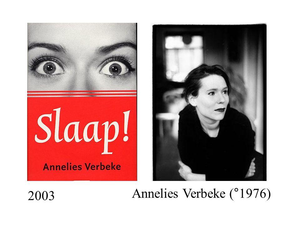 2003 Annelies Verbeke (°1976)