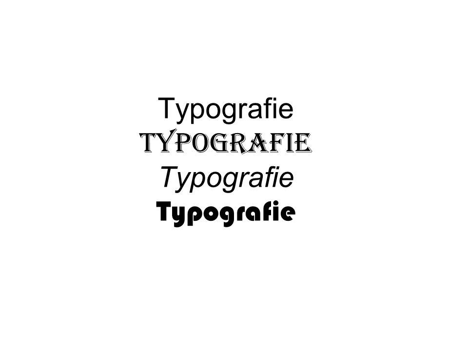 Typografie Typografie