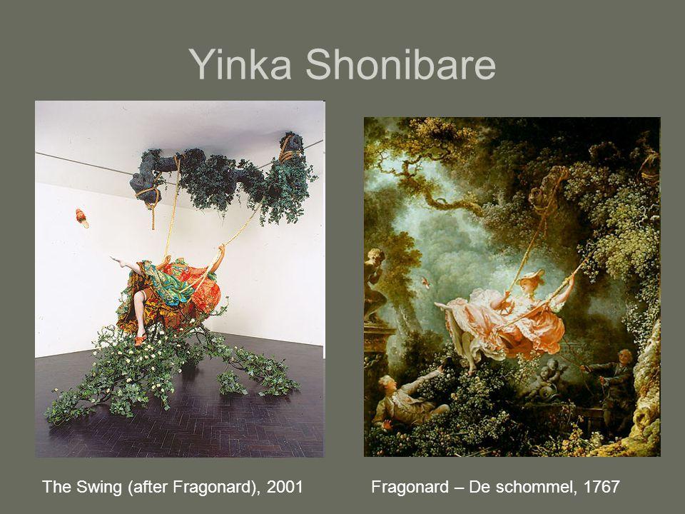 Yinka Shonibare The Swing (after Fragonard), 2001Fragonard – De schommel, 1767