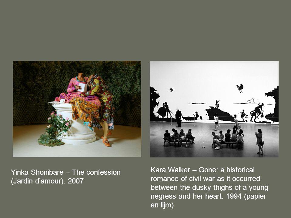 Roy Villevoye – Asmat (1992 – 2000)Fiona Tan – Videostill uit de instalatie 'Provenance' (2008)