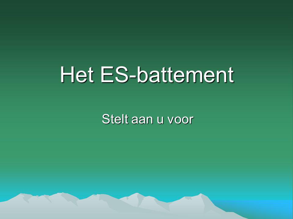 Het ES-battement Stelt aan u voor