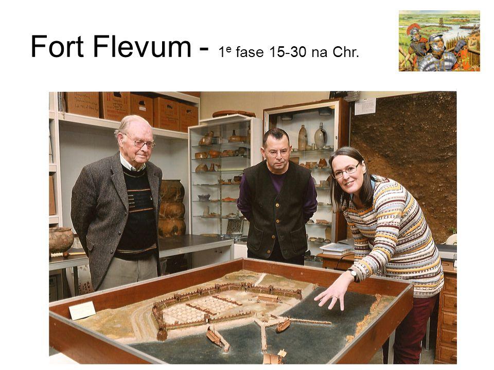 Fort Flevum - 1 e fase 15-30 na Chr.
