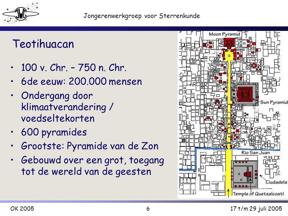 7 Jongerenwerkgroep voor Sterrenkunde OK 200517 t/m 29 juli 2005