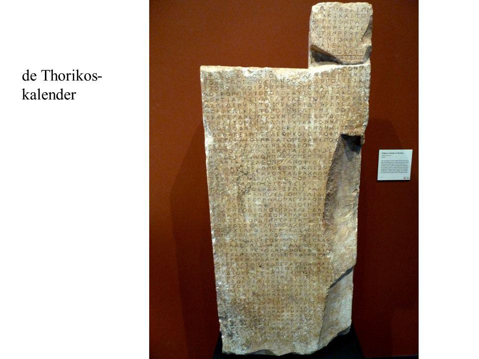 de Thorikos- kalender