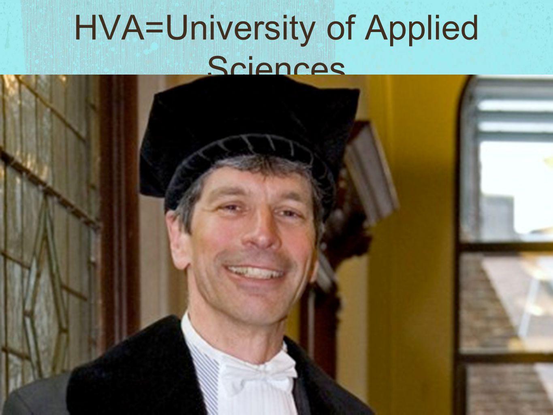 HVA=University of Applied Sciences