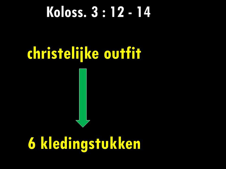 christelijke outfit 6 kledingstukken