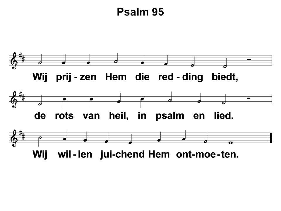  Lezen: Doopformulier 3  Zingen: Gezang 161 : 1 – 4  Dopen: Aaron Jacob Veenstra  Zingen: Gezang 141 : 1