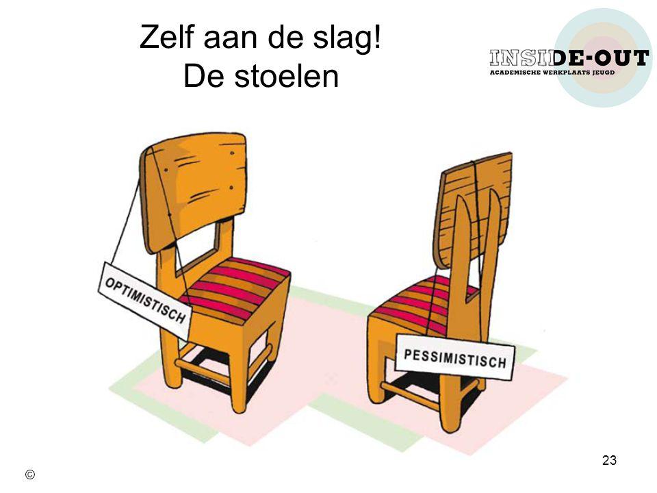 Zelf aan de slag! De stoelen 23 ©