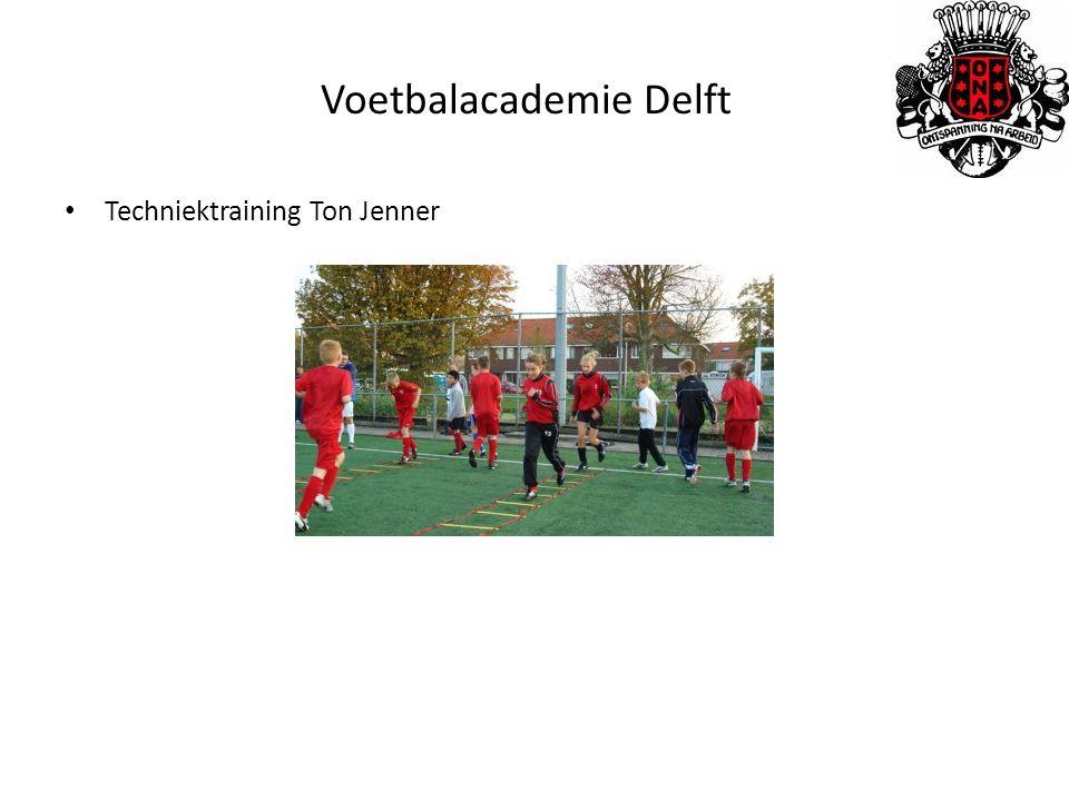 Voetbalacademie Delft Techniektraining Ton Jenner
