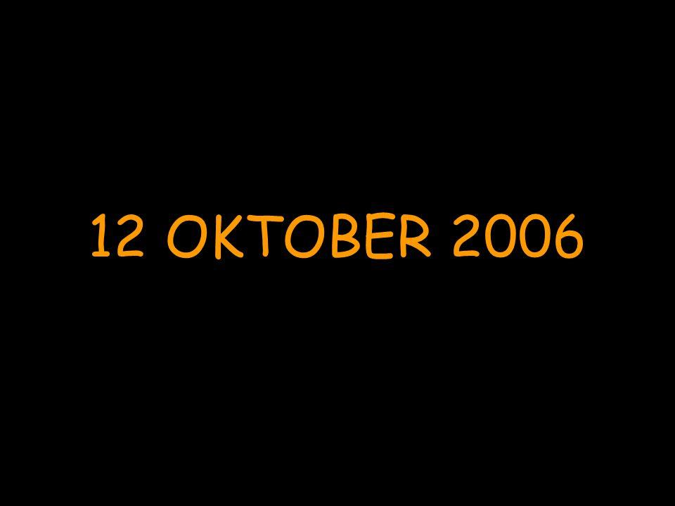 12 OKTOBER 2006