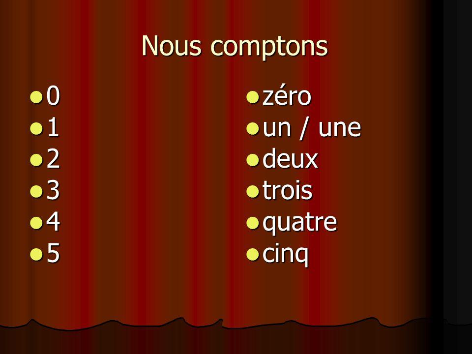 Zeg het getal in het Frans. 700 700 sept cent sept cent
