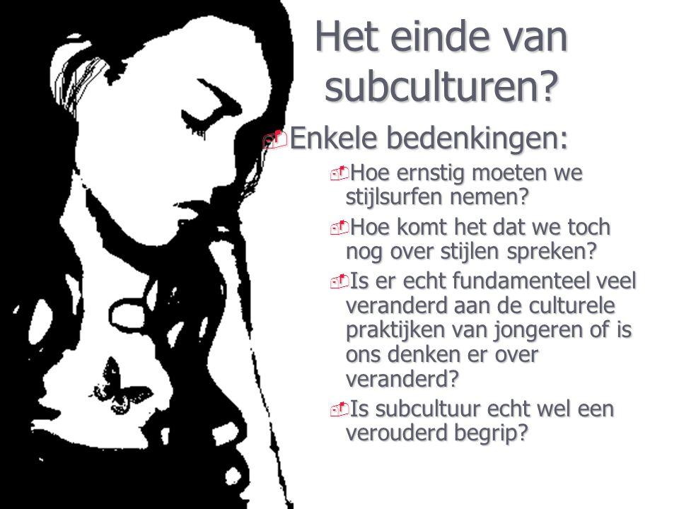 Debat beleid. Relatie jeugd(sub)cultuur – beleid.