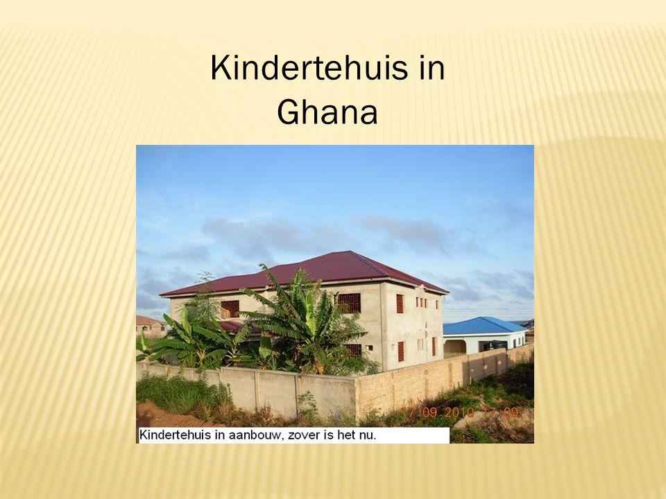 Ghana ligt in Afrika.