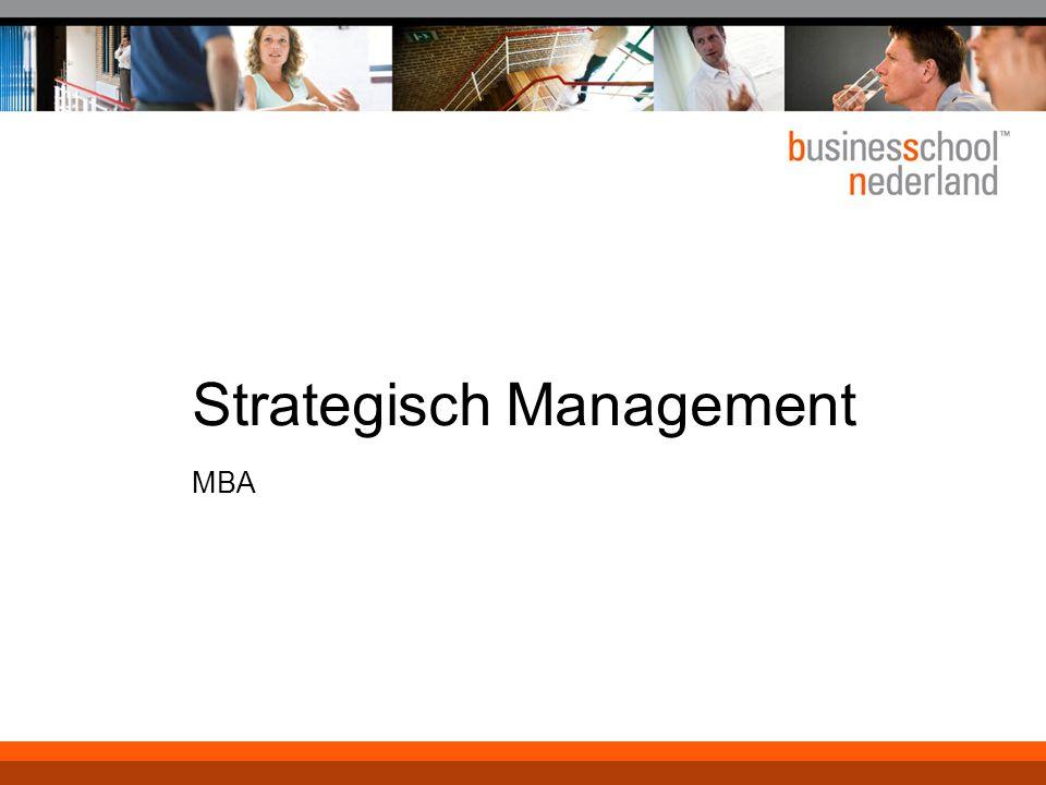 Strategisch Management MBA