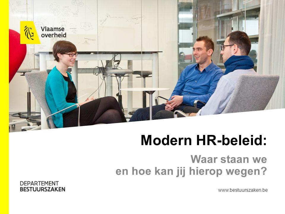 Modern HR-beleid: Waar staan we en hoe kan jij hierop wegen www.bestuurszaken.be