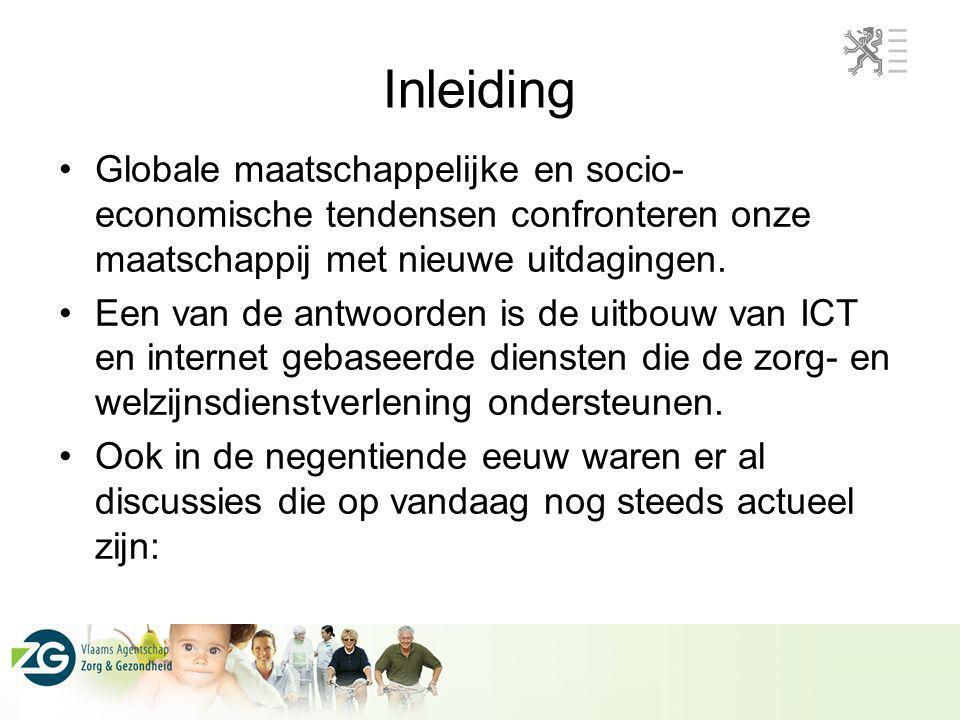 Het actieplan eZorgzaam Vlaanderen: Waarom.