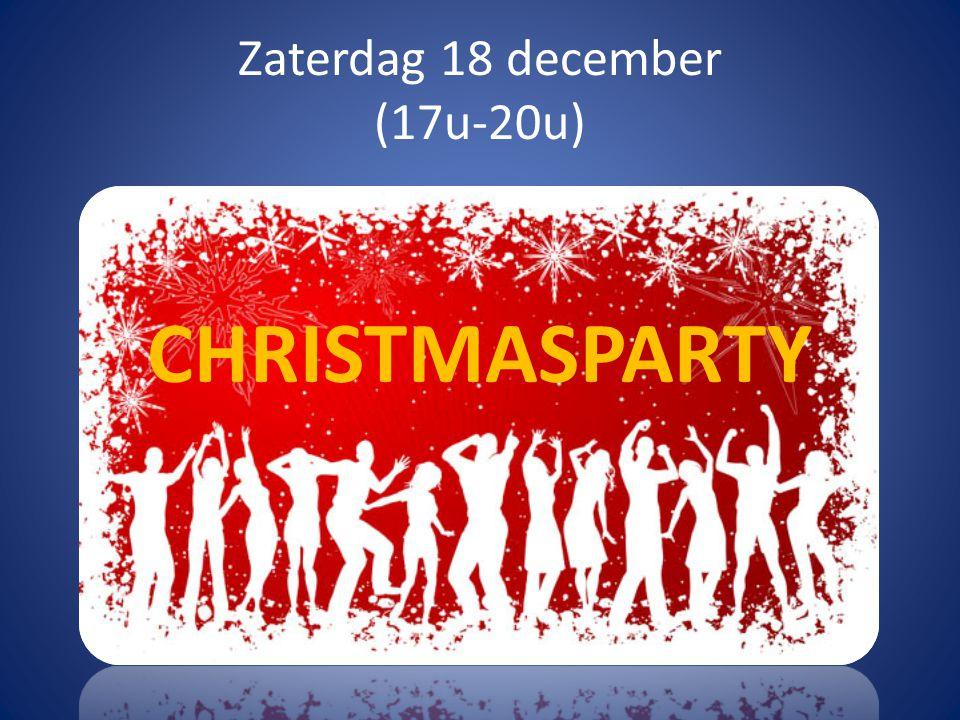 Zondag 12 december Geen chiro