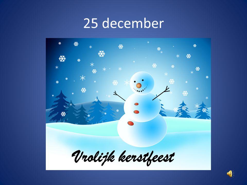 Zondag 19 december Geen chiro