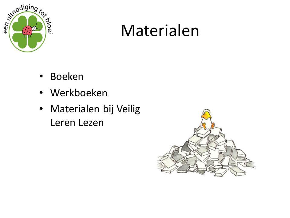 Materialen Boeken Werkboeken Materialen bij Veilig Leren Lezen