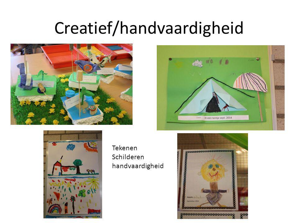 Creatief/handvaardigheid Tekenen Schilderen handvaardigheid