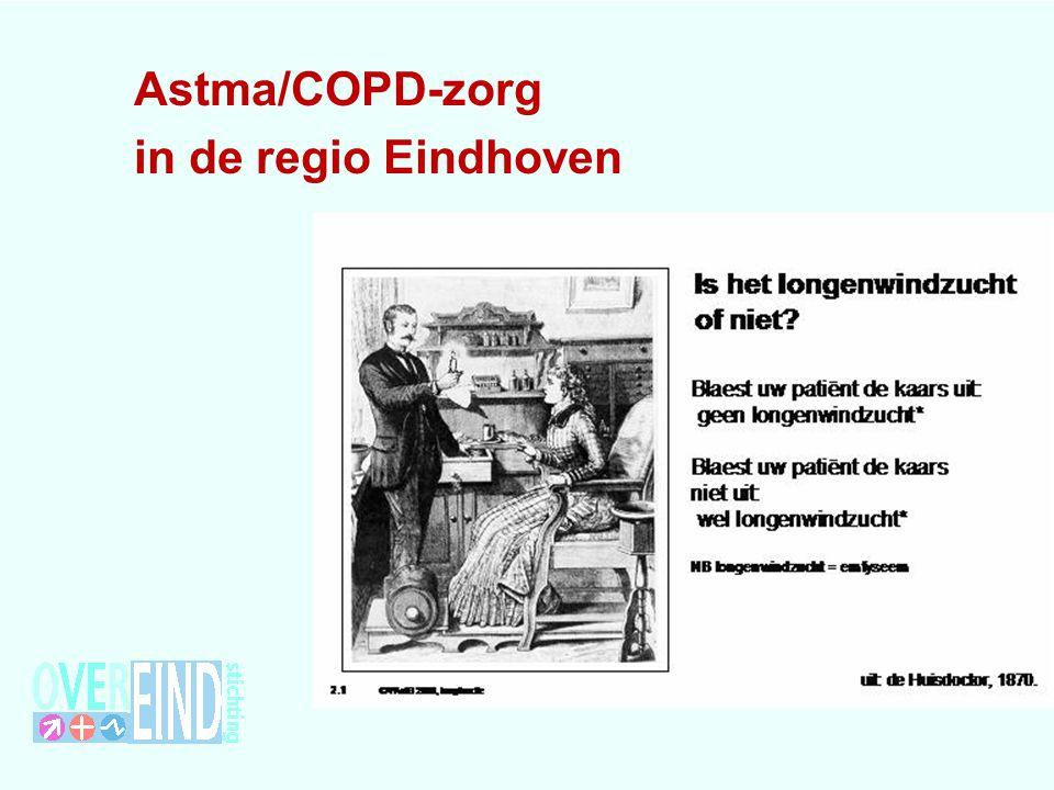 Ontwikkelingen in de eerste lijn-1 Jaren 80: CARA , een verzamelbegrip voor astma, chronische bronchitis en emfyseem Regio: Samen werking huisarts-specialistRegio: Samen werking huisarts-specialist