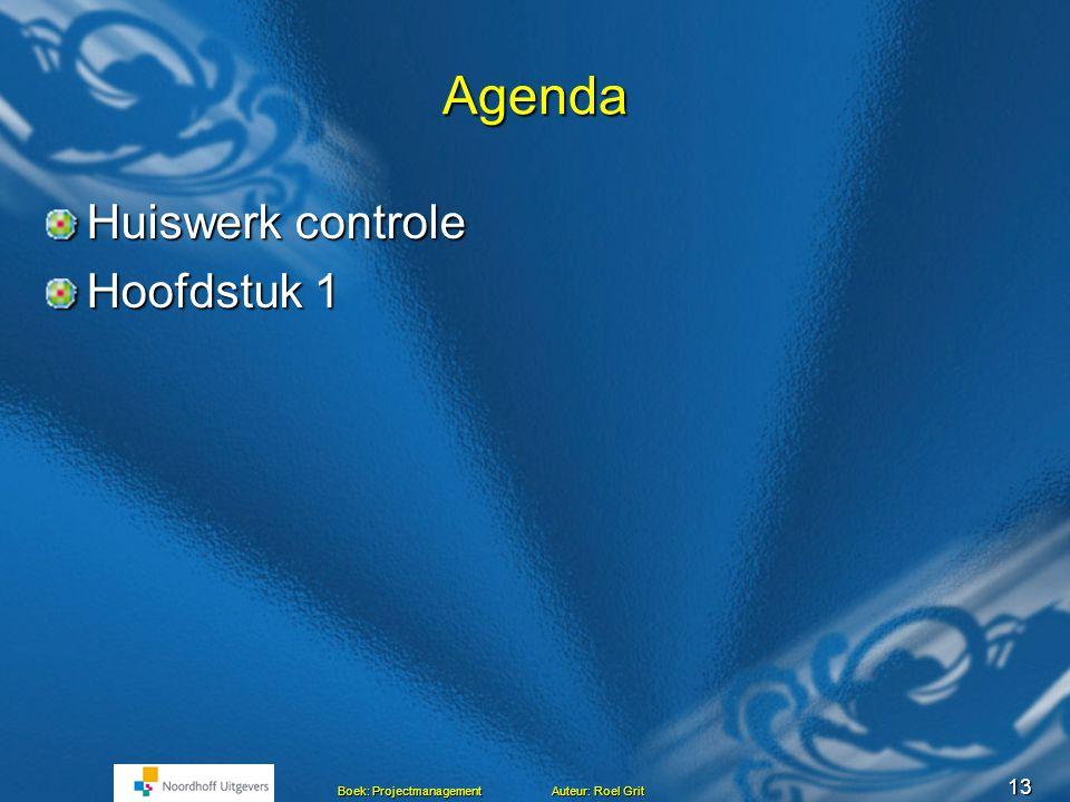 Projectmanagement BLOK C Les 2 Hoofdstuk 1 en 2 Het project Mensen en projecten Mensen en projecten