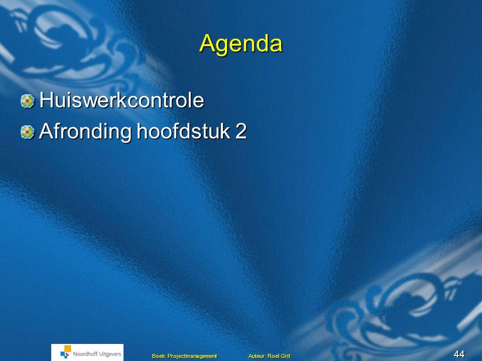 Projectmanagement BLOK C Les 6 Hoofdstuk 1 en 2 Het project Mensen en projecten Mensen en projecten