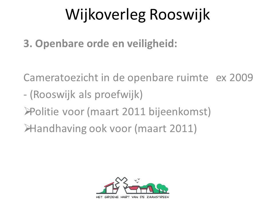 Wijkoverleg Rooswijk 4.