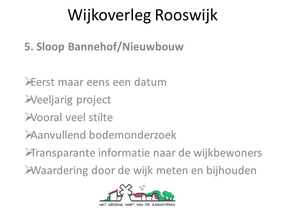 Wijkoverleg Rooswijk 5.