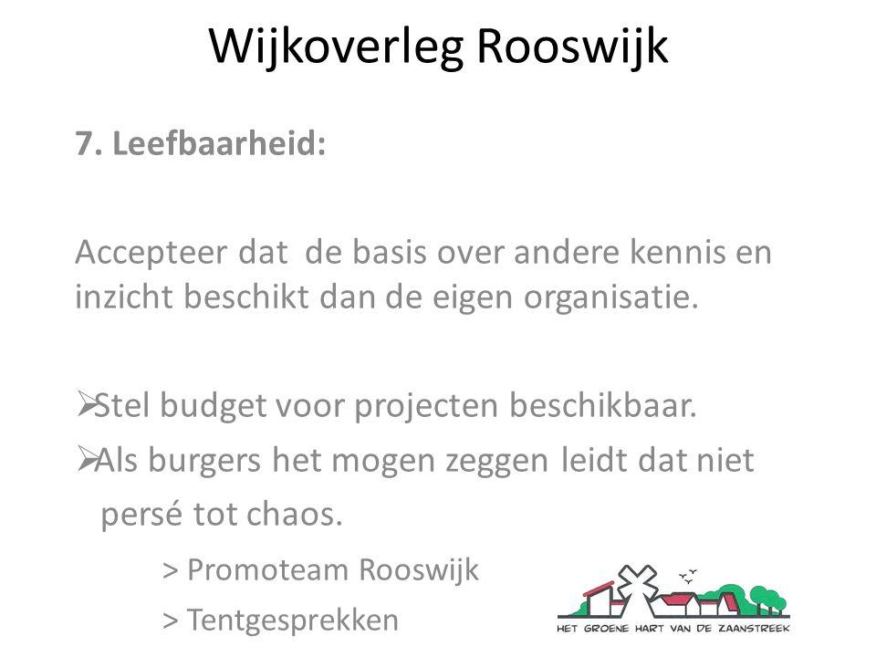 Wijkoverleg Rooswijk Bedankt voor de aandacht.Vragen & suggesties welkom.