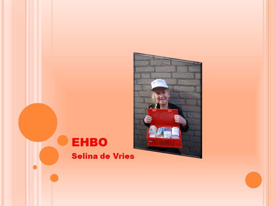 EHBO Selina de Vries