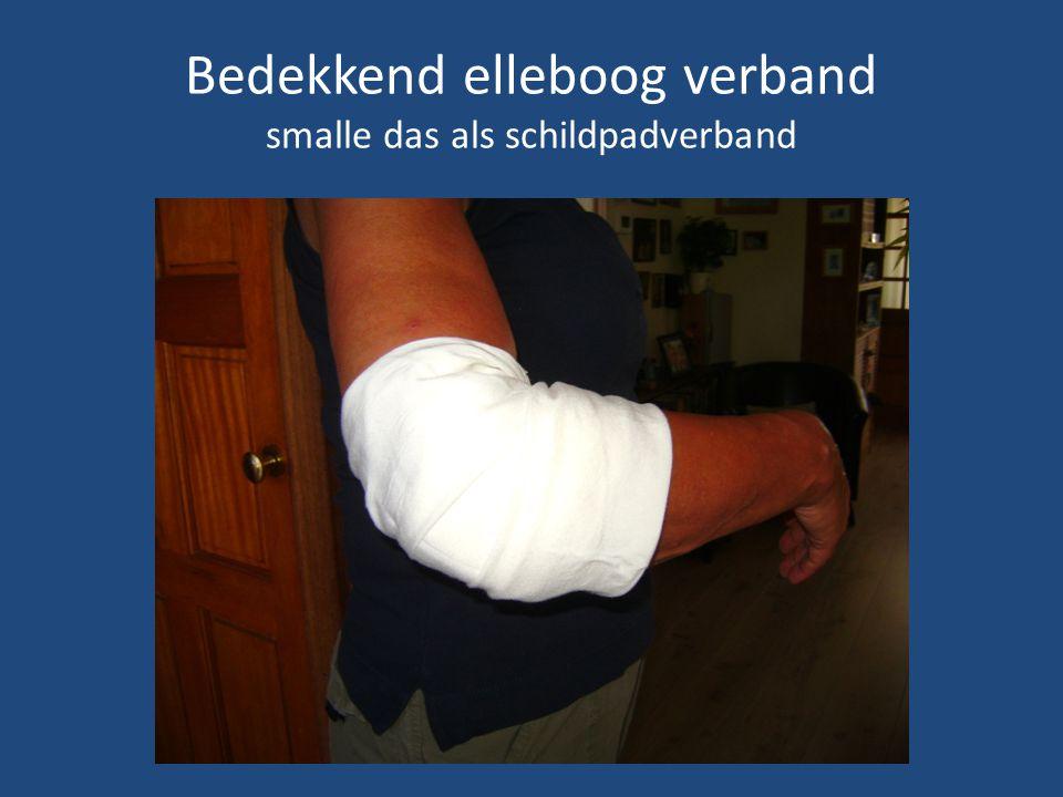 Bedekkend heup verband 1 smalle das 1 driekante doek Bij verwondingen heup en bovenbeen
