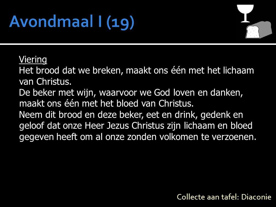 Viering Het brood dat we breken, maakt ons één met het lichaam van Christus.