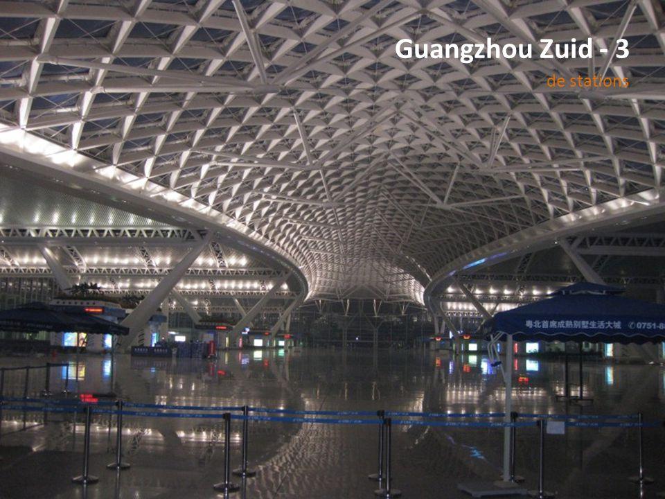 Guangzhou Zuid - 3 de stations