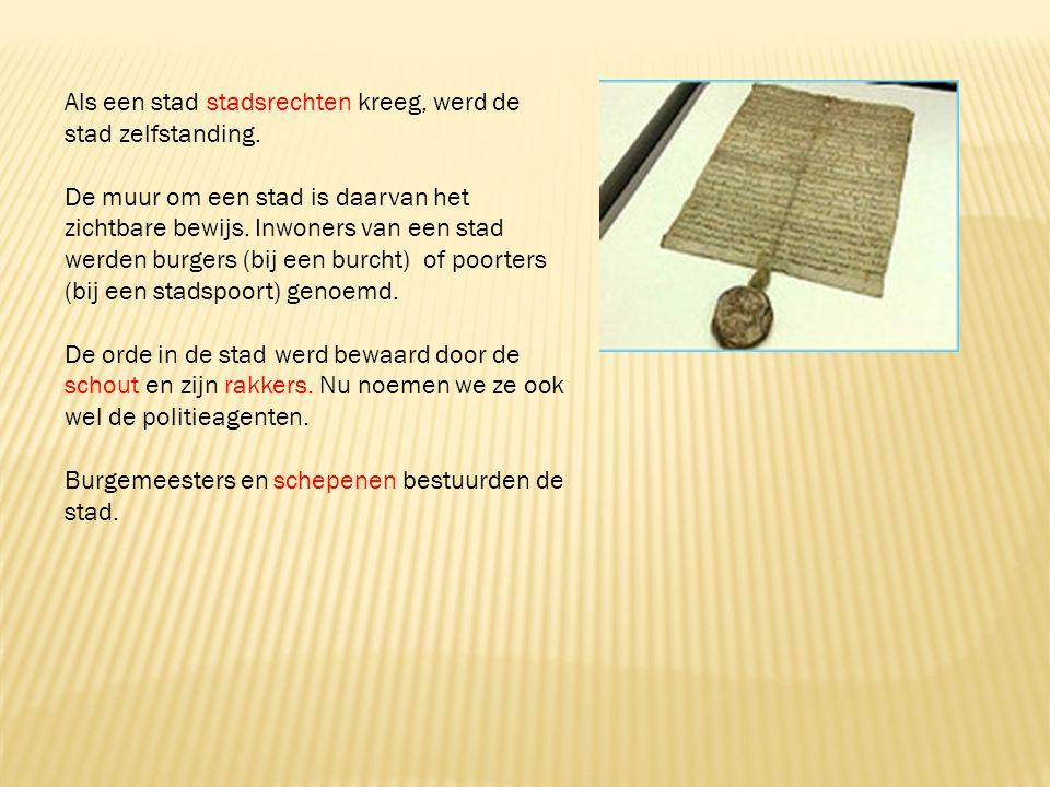 -markt -keurmeester -belfort -lakenhal -waag -Nederlanden -Lage landen Iedere stad had verschillende markten.