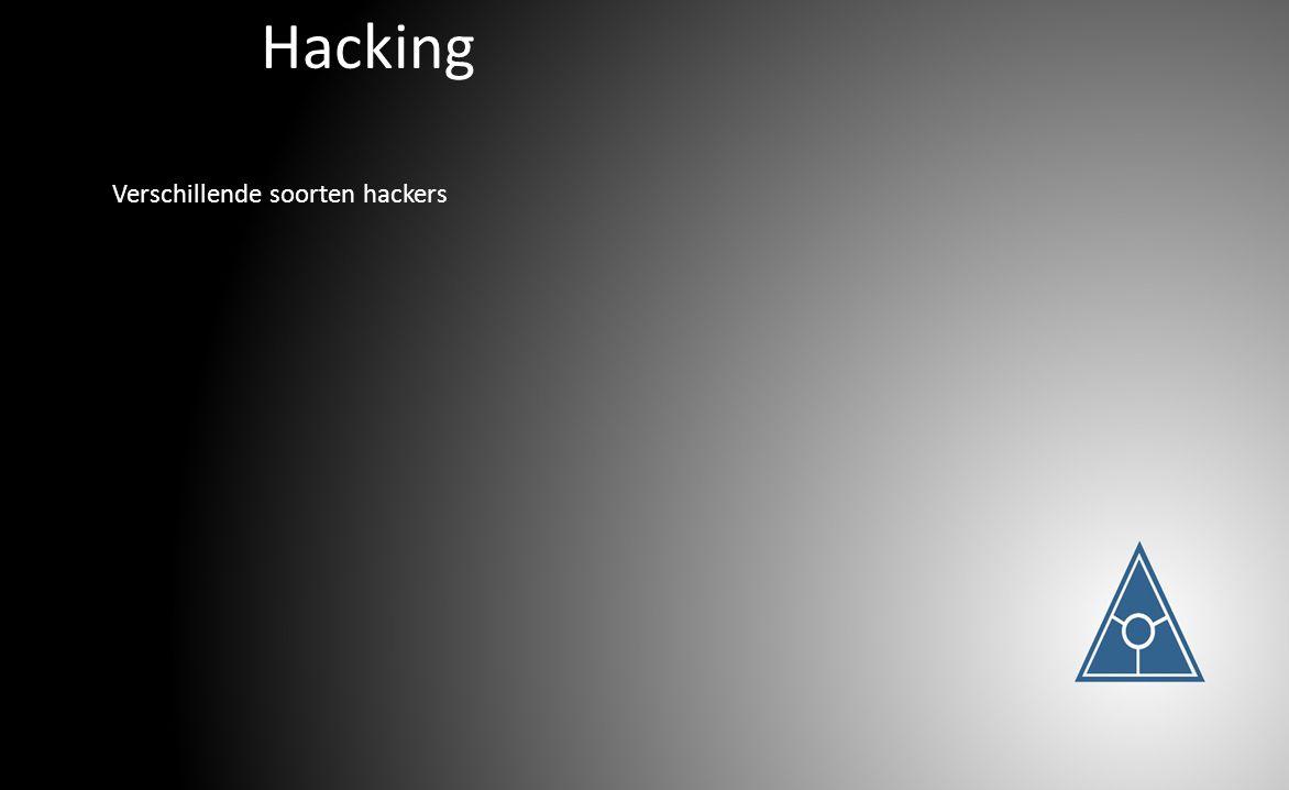 Hacking Verschillende soorten hackers
