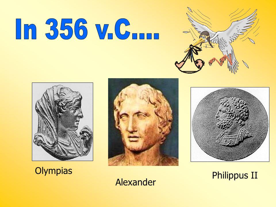 Olympias Philippus II Alexander