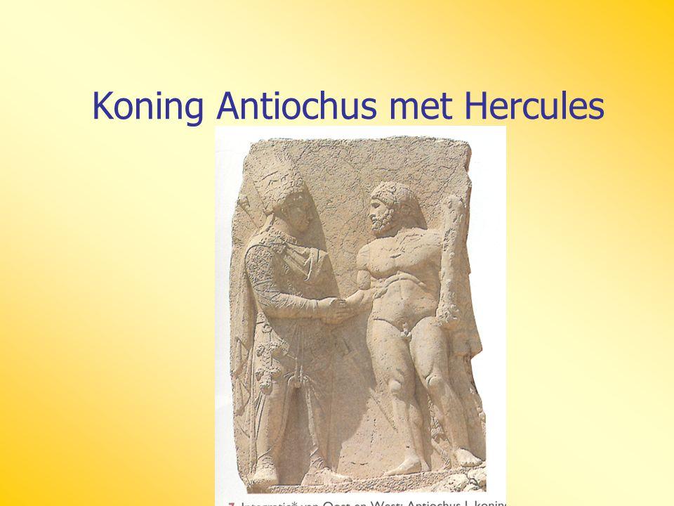 Koning Antiochus met Hercules
