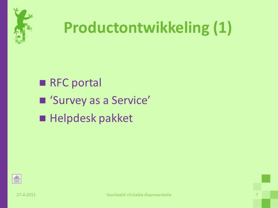 Productontwikkeling (2) 27-4-2011Voorbeeld clickable diapresentatie8