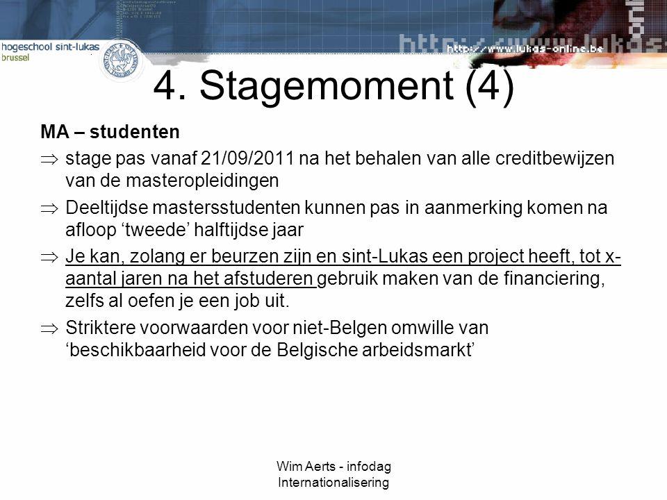 Wim Aerts - infodag Internationalisering 4.