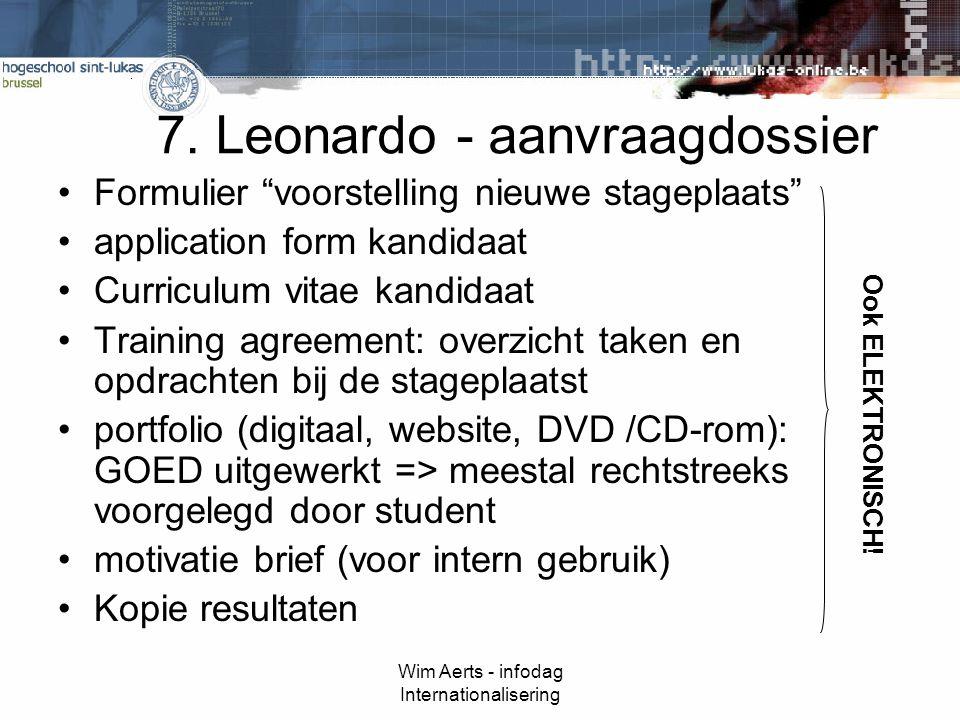 Wim Aerts - infodag Internationalisering 7.