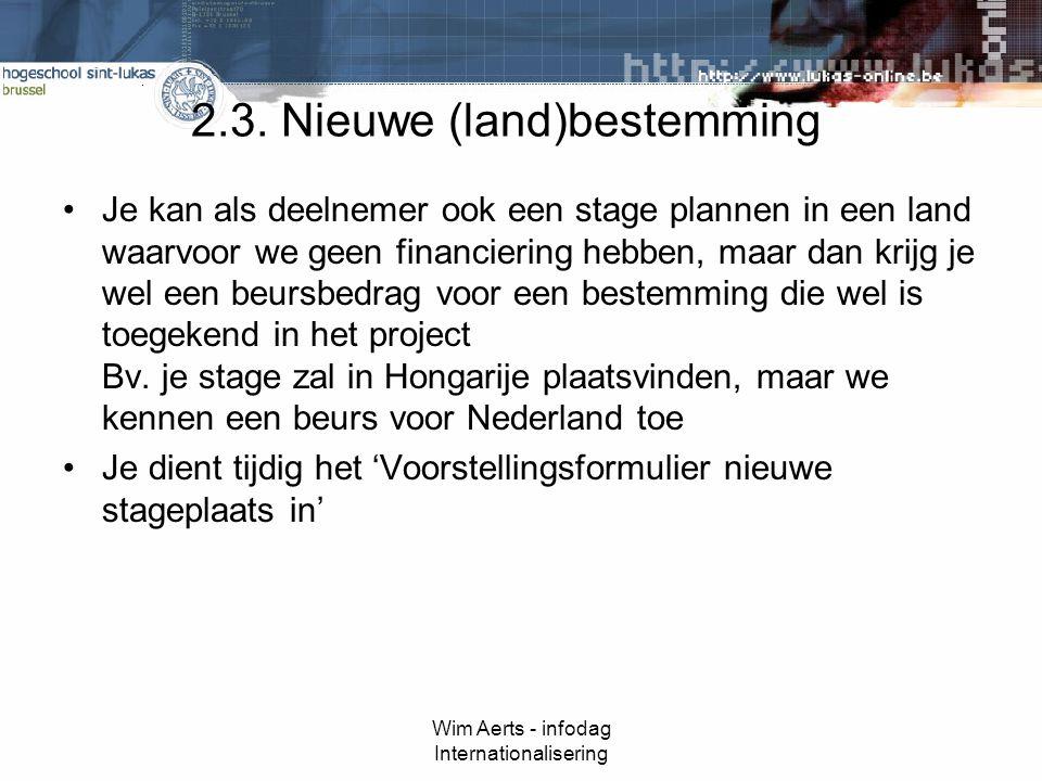 Wim Aerts - infodag Internationalisering 2.3.